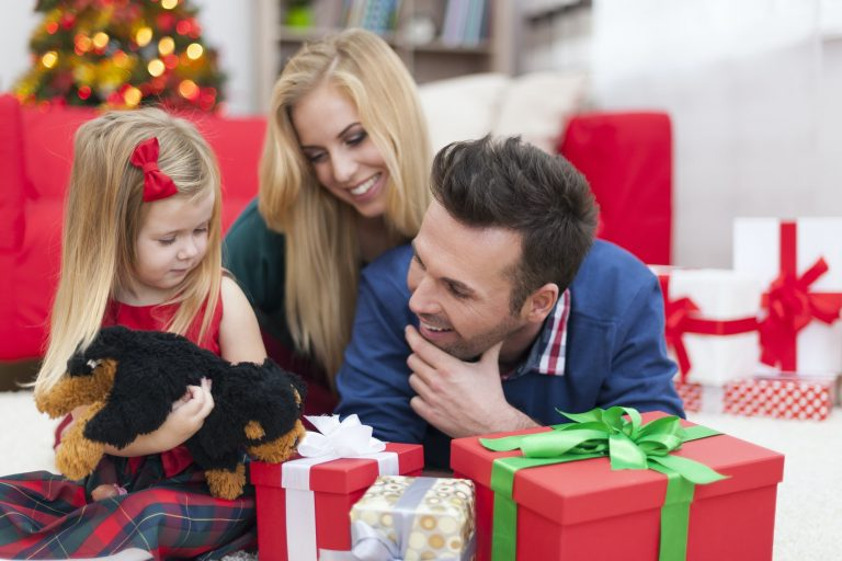 Spending Christmas time with family