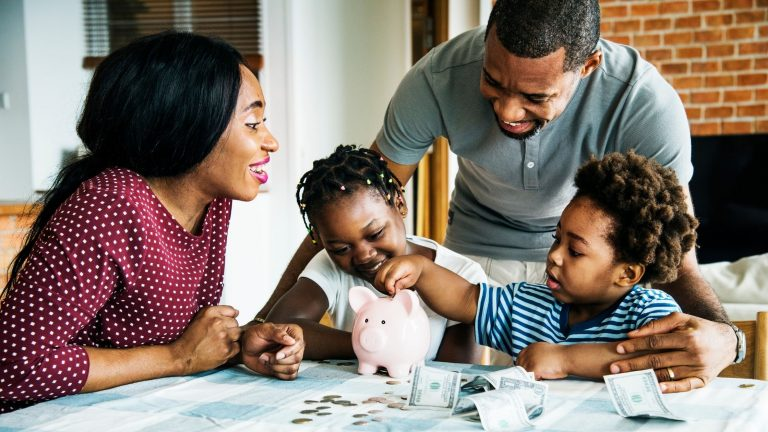 Tips to teach your children how to save money